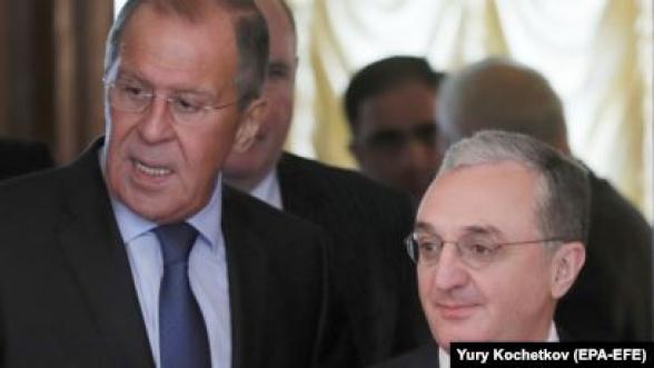 Пресс-конференции глав МИД Армении и России (видео)
