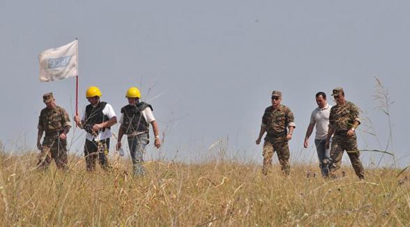 ԵԱՀԿ առաքելությունը հրադադարի ռեժիմի պլանային դիտարկում է անցկացրել Արցախի և Ադրբեջանի սահմանին