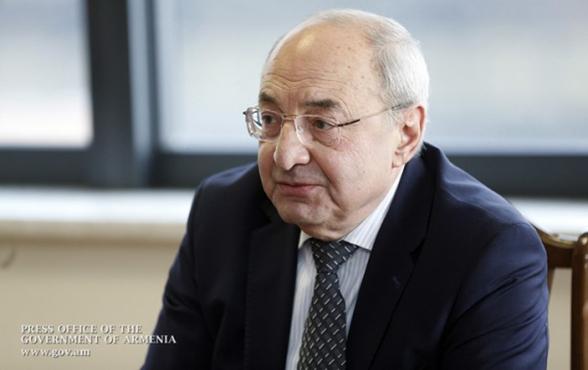 Вазген Манукян заявил о выходе из состава Общественного совета Армении