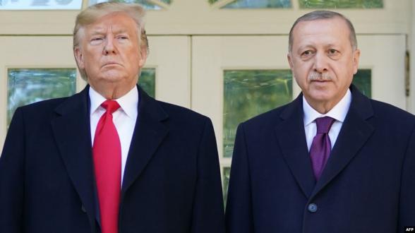 Էրդողանը Վաշինգտոնում «ամոթալի քայլ» է որակել Հայոց ցեղասպանության բանաձևի ընդունումը