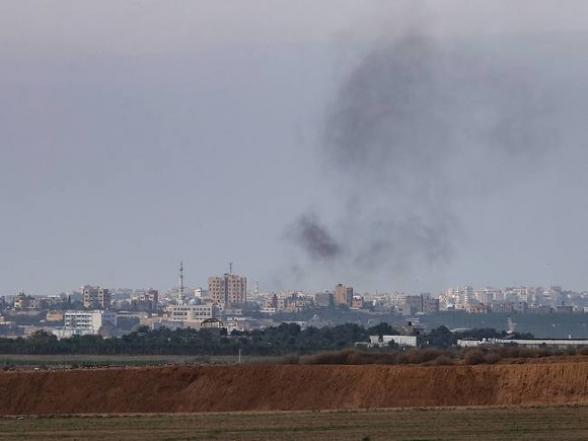 Израиль атаковал ХАМАС в секторе Газа после ракетного обстрела