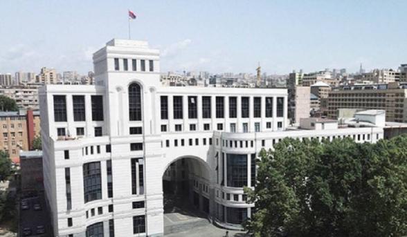 Турция остается угрозой для безопасности Армении – МИД ответил на заявления Эрдогана