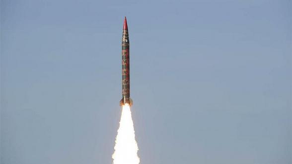 Пакистан успешно испытал баллистическую ракету «Шахин-1»