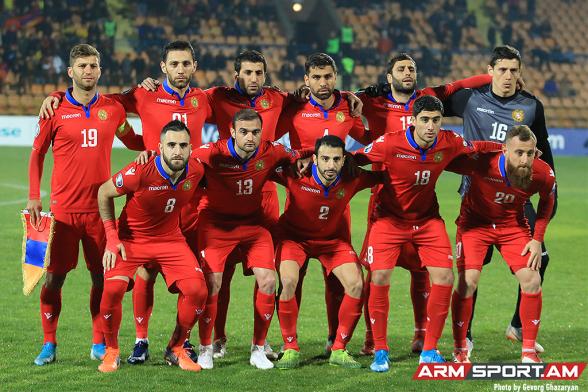 Сборная Армении потерпела самое крупное поражение в своей истории – 1:9 (видео)