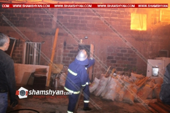 Զովունիում գործող փայտի արտադրամասում կրակի դեմ պայքարում է 4 մարտական հաշվարկ. հայտարարվել է հրդեհի վտանգավորության «ԲԻՍ-1» աստիճան