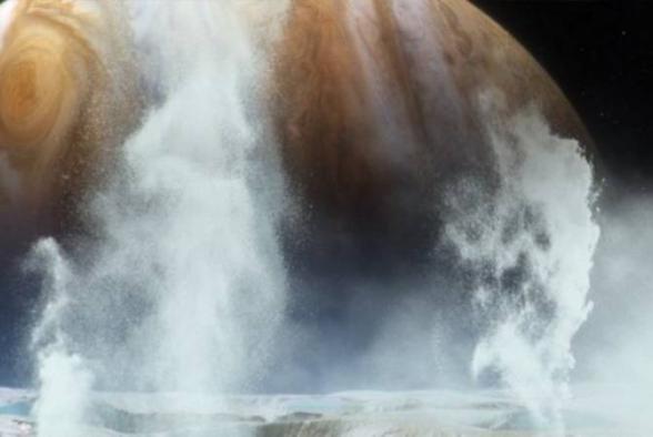 NASA-ում հավաստել են ջրի գոլորշու առկայությունը Յուպիտերի արբանյակի մակերեւույթի վրա