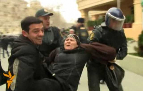 Ադրբեջանցի «բլոգերը» ուժային ծառայության աշխատակից է (լուսանկար)