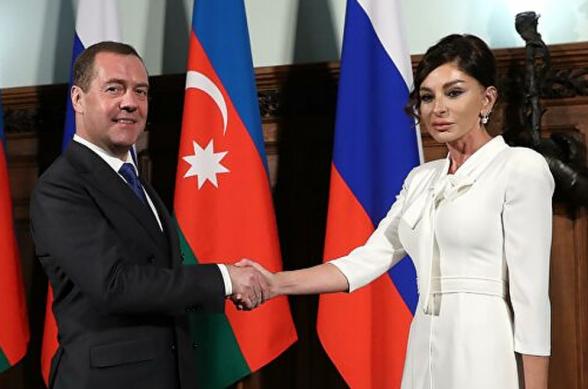 Ալիևայի այցը Ռուսաստանի և Ադրբեջանի միջև գործընկերության ուղիղ հաստատումն է. Մեդվեդև