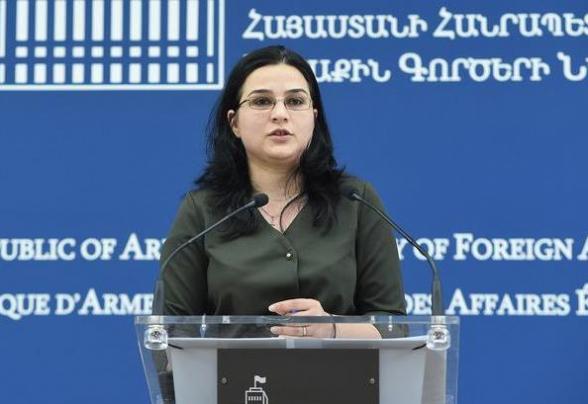 Мы осуждаем спекуляцию Азербайджана трагедией в Сумгаите – пресс-секретарь МИД