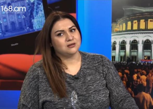 «Մեհրիբան Ալիևան ասում է՝ ադրբեջանական դրոշը պետք է ծածանվի Արցախի բոլոր բնակավայրերում. իր հետ ինչի՞ մասին բանակցես». Անժելա Էլիբեգովա (տեսանյութ)