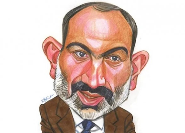 «Коммерсантъ» опубликовал карикатуру Никола Пашиняна и 10 его цитат