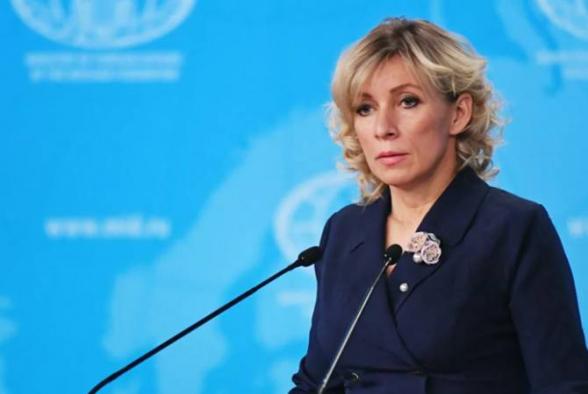 Ռուսաստանը ողջունում Է ԼՂ-ի շուրջ իրադրության ապաԷսկալացմանն ուղղված ակցիաները. Զախարովա