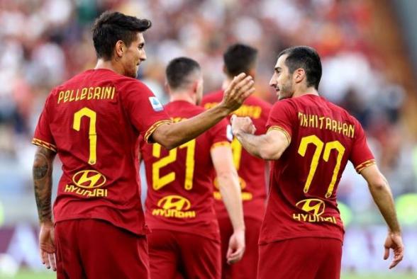 Генрих Мхитарян – в заявке «Ромы» на матч чемпионата Италии