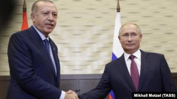 В Кремле подтвердили встречу Путина и Эрдогана 8 января