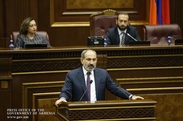 Правительственный час в парламенте Армении