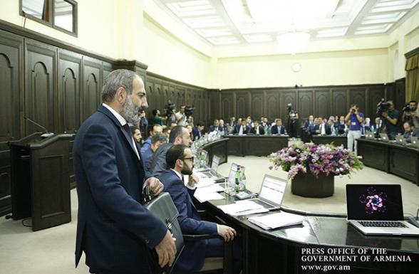 ՀՀ կառավարության նիստը՝ ուղիղ