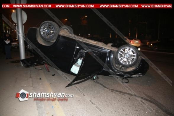 Բախվել են 19-ամյա վարորդի BMW X6-ն ու 31-ամյա վարորդի մարդատար Газель-ը. կան վիրավորներ