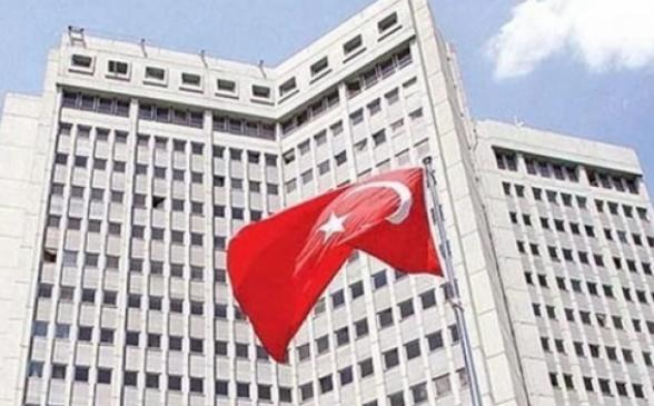 Թուրքիան արձագանքել է ամերիկյան պատժամիջոցների բանաձևի ընդունմանը