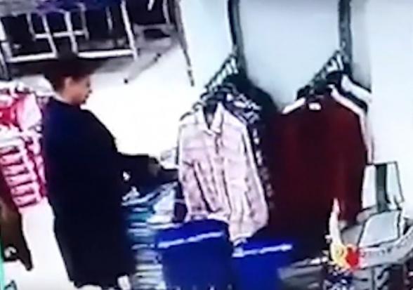 Հափշտակություն է կատարվել խանութի սրահից (տեսանյութ)