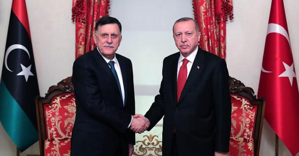 Евросоюз отказался признать меморандум Турции и Ливии по морским зонам