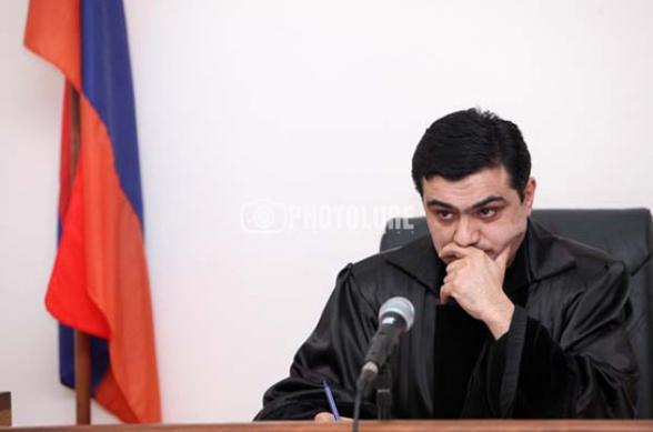 Сателлиты власти оказывали на судью по делу Кочаряна тотальное психологическое давление – «Иратес»