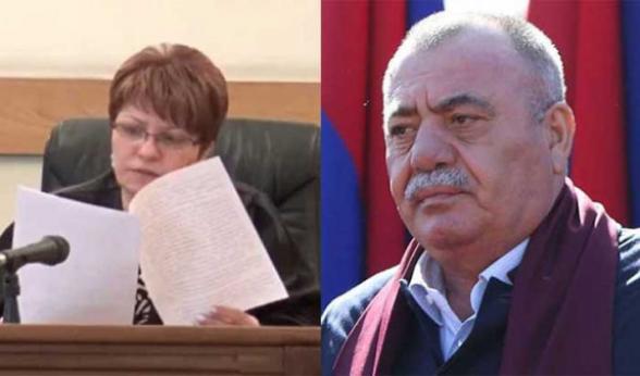 Մանվել Գրիգորյանին գրավի դիմաց ազատ արձակելու բողոքը վերաքննիչը մերժեց