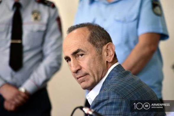 Քոչարյանի պաշտպանները խափանման միջոցի փոփոխության հարցով դիմելու են Վճռաբեկ դատարան