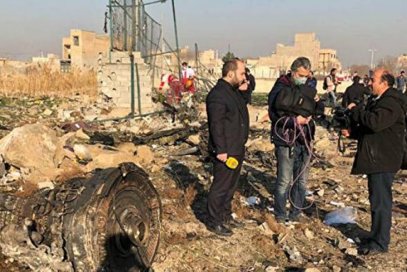 По предварительным данным, среди жертв крушения украинского самолета в Иране граждан Армении нет
