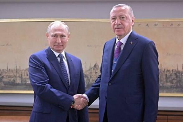 В Стамбуле завершились переговоры Путина и Эрдогана