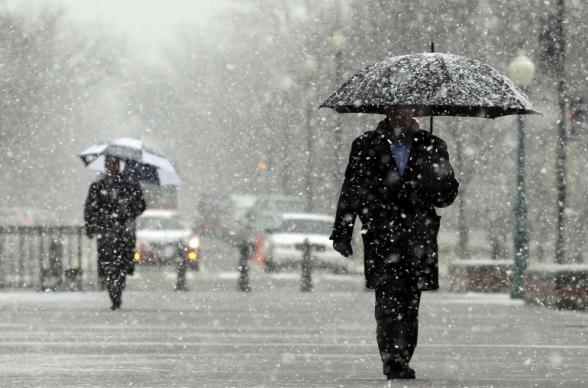 Հունվարի 14-ի ցերեկը, 15-16-ը սպասվում է առանց տեղումների եղանակ, 17-19-ը հնարավոր է թույլ ձյուն