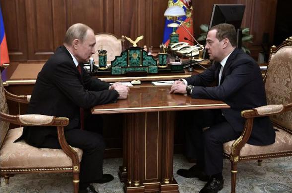 Պուտինը Մեդվեդևին առաջարկել է Անվտանգության խորհրդի փոխնախագահի պաշտոնը