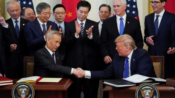 США заявили о начале обсуждения второй фазы торговой сделки с Китаем