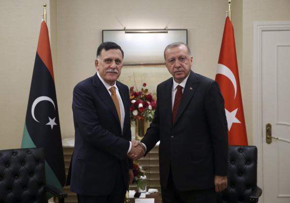 Эрдоган принял решение об отправке войск в Ливию