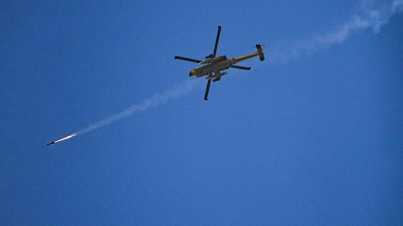 Израиль нанес удары по целям ХАМАС (видео)