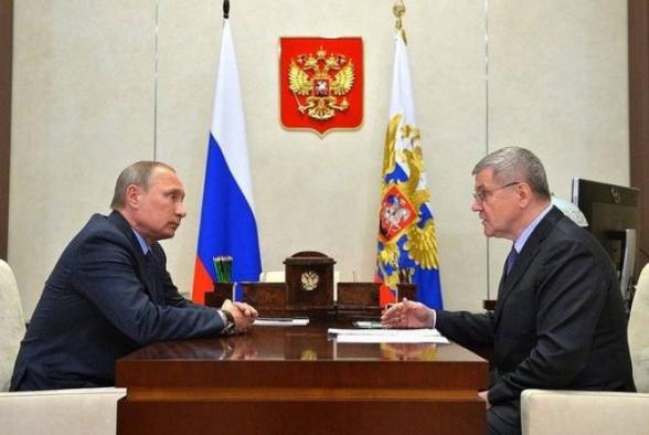 Путин предложил освободить Чайку от поста генерального прокурора