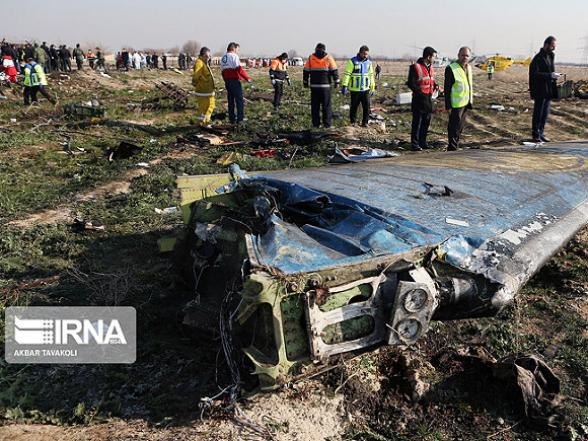 Вместо «черных ящиков» рухнувшего самолета Иран передаст Украине их расшифровку