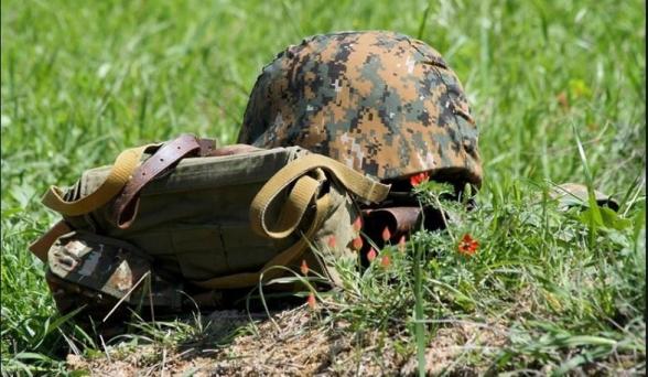 В результате несчастного случая в Арцахе погиб военнослужащий