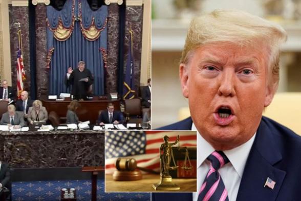 Сенат одобрил процедуру суда над Трампом в рамках импичмента