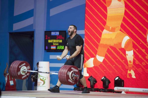 Սիմոն Մարտիրոսյանը հավակնում է տարվա լավագույն ծանրորդի կոչմանը