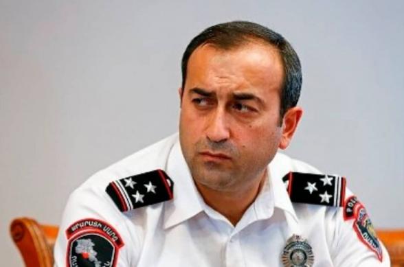 Армен Гаспарян назначен начальником управления Полиции Еревана