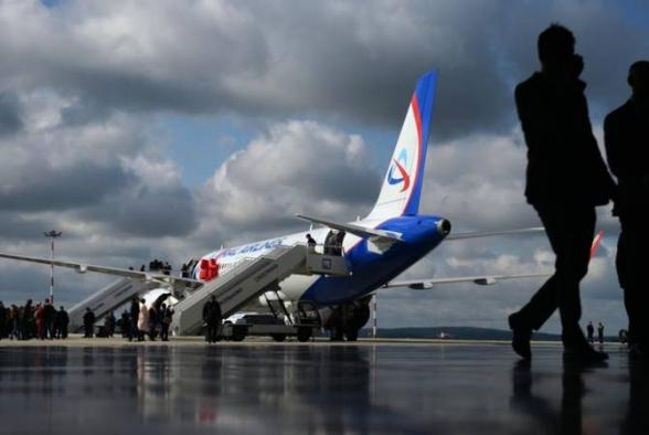 Եկատերինբուրգ-Երևան չվերթը հետ է վերադարձել օդանավակայան շասսիի անսարքության պատճառով