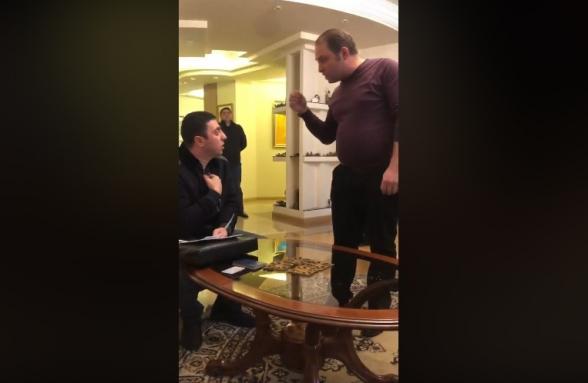 Адвокат Грайра Товмасяна опубликовал видеозапись