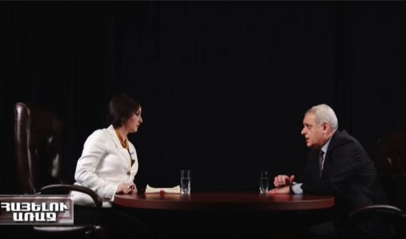 Նիկոլի նպատակն է Արցախի հարցը ոչ ի նպաստ մեզ լուծել․ Դավիթ Շահնազարյան (տեսանյութ)