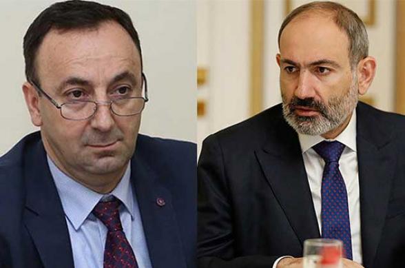 Հրայր Թովմասյանը 20 օր ժամանակ է տվել Փաշինյանին, նա էլ պատասխանել է