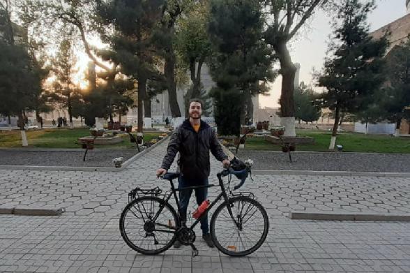 7500 կմ անցած զբոսաշրջիկի հեծանիվը Թբիլիսիում գողացել են