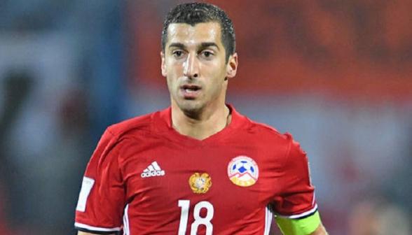 Генрих Мхитарян – лучший футболист Армении 2019 года