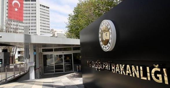 Թուրքիայի ԱԳՆ-ն կոչ է արել ԱՄՆ-ին ազատ չարձակել Համբիկ Սասունյանին