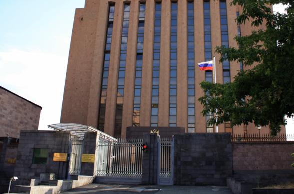 ՀՀ-ում ՌԴ դեսպանատան արձագանքը Տ. Հակոբյանի՝ ռուսական հեռուստաալիքների «ներկայացրած սպառնալիքի» մասին հայտարարությանը