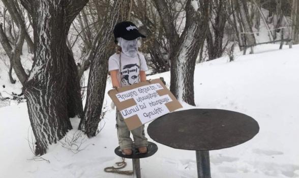 Հրայրը ճիշտ էր, ես սխալվեցի. անում եմ հետքայլս Գյումրի. Շիրակում Նիկոլ Փաշինյանի խրտվիլակն են կանգնեցրել (լուսանկար)