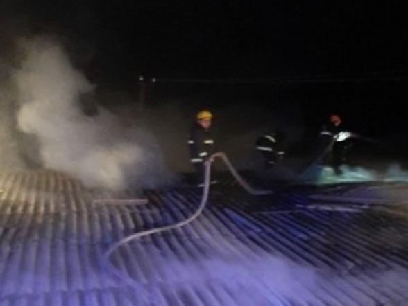 Խոշոր հրդեհ՝ Սոլակ գյուղում. սատկել է 20 հավ